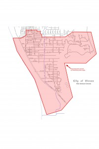 Water Map Parkersburg Service